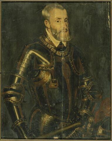 Charles-Quint (1500-1585) empereur du Saint-Empire romain germanique et roi d'Espagne