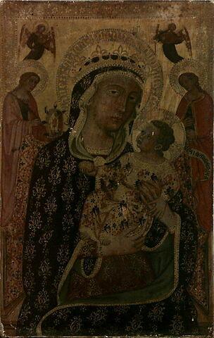 La Vierge et l'Enfant entre sainte Catherine d'Alexandrie, sainte Marménia et deux anges musiciens