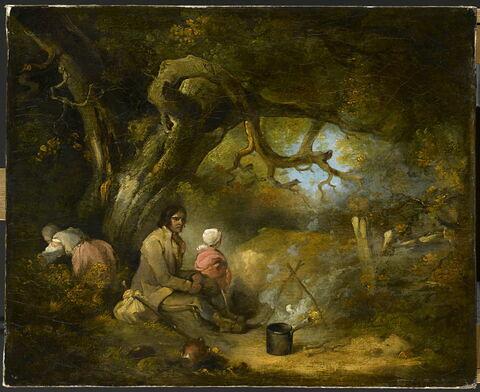 Campement de bohémiens, 1791