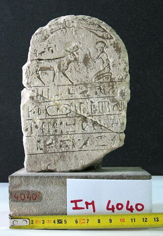 stèle biface