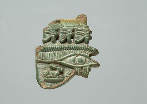 amulette oudjat à lion
