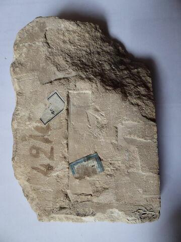 vue d'ensemble ; dos, verso, revers, arrière © 2018 Musée du Louvre / Antiquités égyptiennes