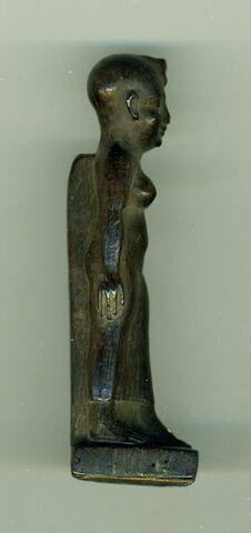 vue d'ensemble ; face, recto, avers, avant ; profil droit © 2012 Musée du Louvre / Antiquités égyptiennes
