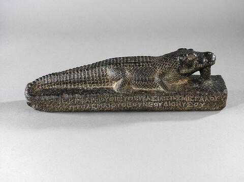 vue plongeante ; profil droit © 2014 Musée du Louvre / Georges Poncet