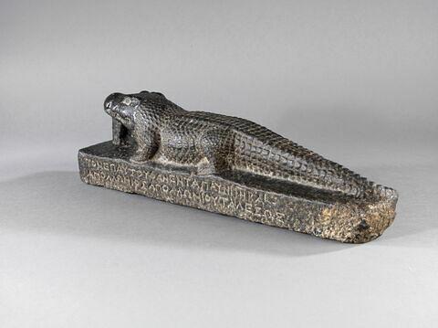 trois quarts gauche ; dos, verso, revers, arrière © 2014 Musée du Louvre / Georges Poncet
