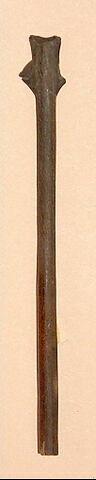 pointe de flèche au tranchant transversal