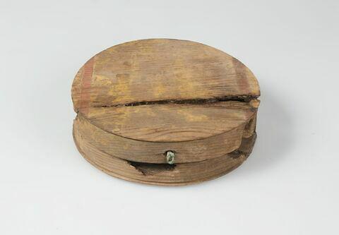 boîte cylindrique ; couvercle de boîte