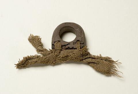 anneau de suspension pour tissu ; étoffe