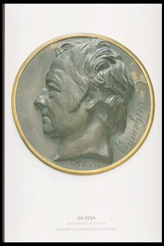 Desgenettes Dufriche baron (1762-1837) médecin en chef des armées de la république