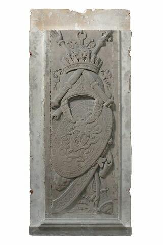 Trophée avec masque de gorgone