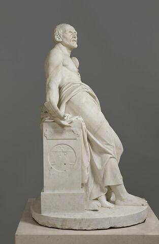 profil droit © 2019 RMN-Grand Palais (musée du Louvre) / Franck Raux