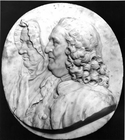 Georges Gougenot (1674-1748), conseiller et secrétaire du roi et sa femme, née Michelle Férouillat (-1763)