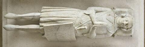 Effigie présumée de Gaucher III de Châtillon, comte de Porcien (+ 1325)