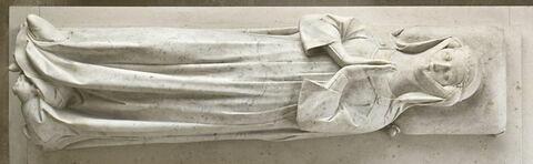 Effigie présumée de Marguerite de Dampierre (+ après 1315)