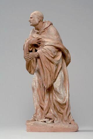 Saint Bernard de Clairvaux (1091-1153), fondateur de l'ordre de Citeaux, docteur de l'Eglise
