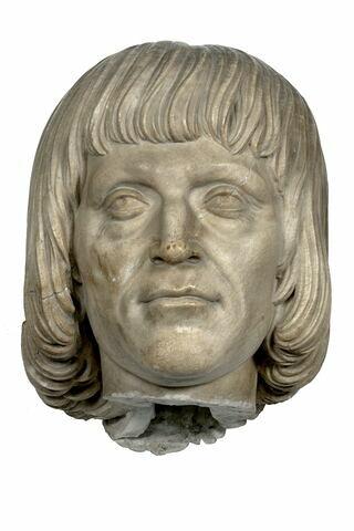 Tête de Louis XII roi de France