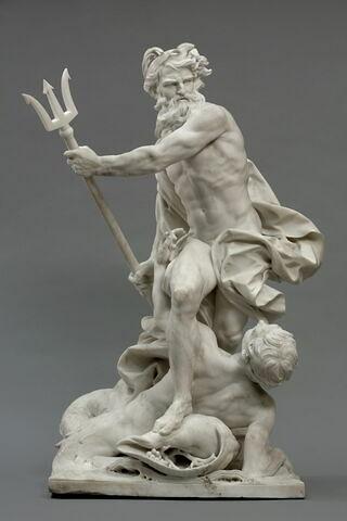 Neptune calmant les flots irrités