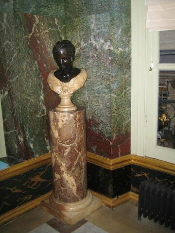 Buste de jeune femme ou tête de Sapho