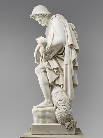 profil gauche © 2019 RMN-Grand Palais (musée du Louvre) / Adrien Didierjean