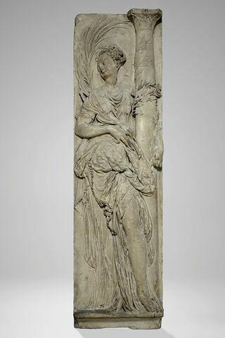 Ange portant la colonne de la flagellation