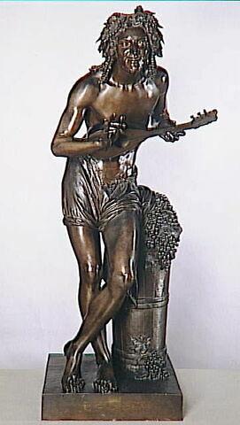 Vendangeur improvisant sur un sujet comique (souvenir de Naples)
