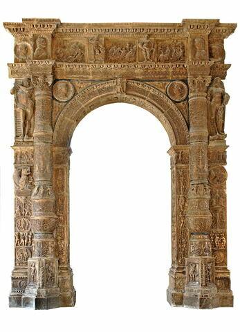 Portail du palais Stanga de Crémone