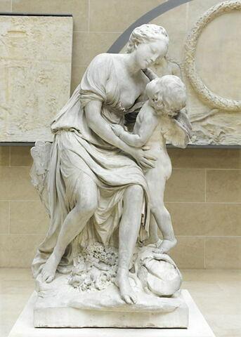 L'Amour embrassant l'Amitié