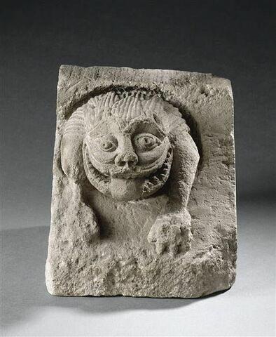 Modillon décoré d'un protome de lion