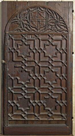 Porte aux armes de Luis Sorell I de Ixar (1496-1571) et de son épouse Elena Boil