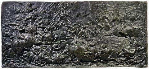 Scène de bataille (le passage du Granique ?)