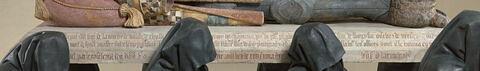 profil droit ; détail inscription © 2018 Musée du Louvre / Hervé Lewandowski