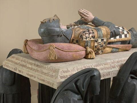 détail ; trois quarts dos © 2018 Musée du Louvre / Hervé Lewandowski