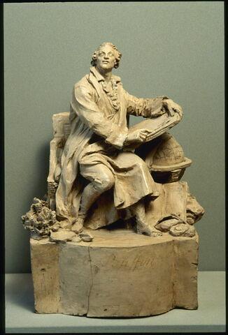 Buffon assis (Georges Louis Leclerc comte de) (1707-1788) naturaliste intendant du Jardin du roi
