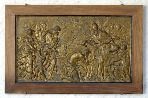 Le Pape Libère baptisant les néophytes
