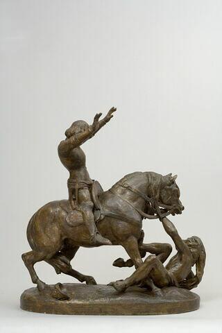Charles VI effrayé dans la forêt du Mans