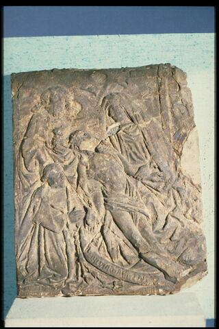 La Vierge de pitié avec St Jean Baptiste et le Cardinal Georges 1er d'Amboise agenouillé