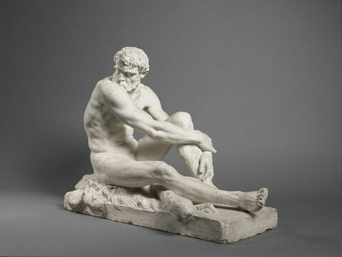 trois quarts face © 2019 Musée du Louvre / Thierry Ollivier