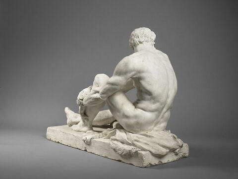 trois quarts dos © 2019 Musée du Louvre / Thierry Ollivier
