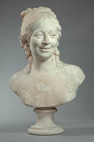 Madame Houdon (née Marie Ange Cécile Langlois) (1765-1823) épouse du sculpteur