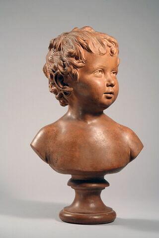 Anne Ange Houdon à l'âge de quinze mois (1788 1843) fille du sculpteur