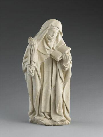 Pleurante en costume d'abbesse