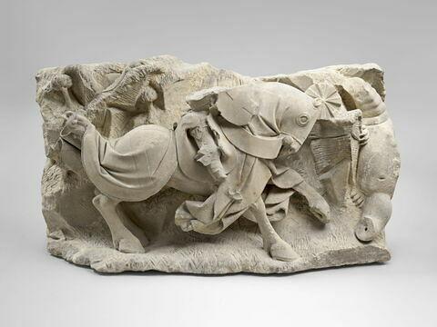 Saint Georges combattant le dragon