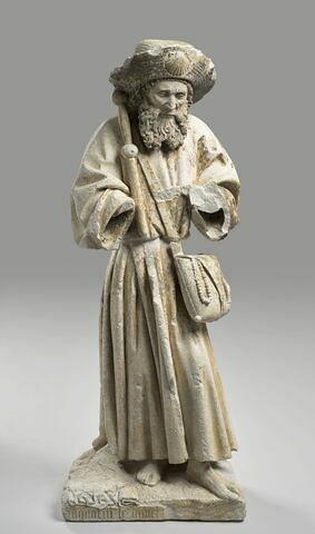 Saint Jacques en pèlerin