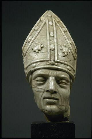 Tête de saint Augustin