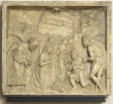 L'Adoration des bergers et le cortège des Rois mages