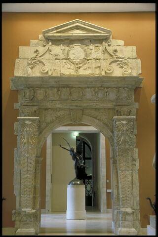 Porte de la salle du Grand Consistoire au Capitole de Toulouse