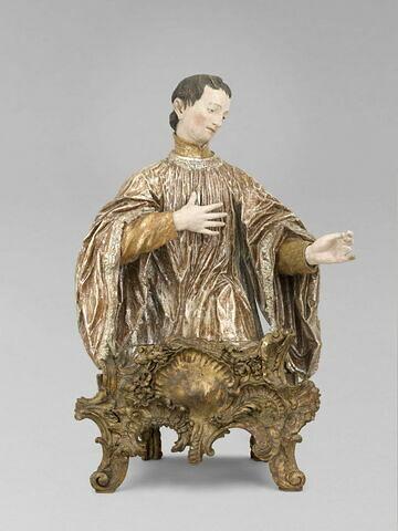 Jeune saint, peut-être Saint Louis de Gonzague