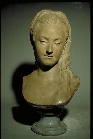 Portrait présumé de Mary Cathcart, fille du baron Charles Cathcart (1721-1776), ambassadeur de Grande-Bretagne à Saint-Pétersbourg de 1768 à 1771