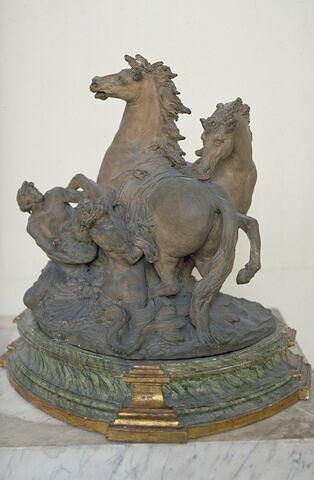 Les Chevaux d'Apollon pansés par les tritons