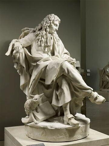 trois quarts droit © 2012 Musée du Louvre / Thierry Ollivier